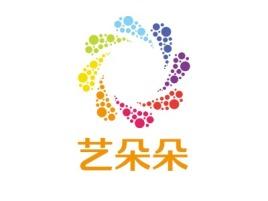 艺朵朵logo标志设计