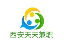 西安天天兼职公司logo设计