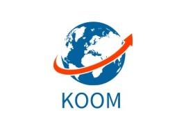 KOOM公司logo设计
