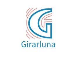 Girarluna公司logo设计