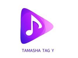 TAMASHA TAǴY logo标志设计