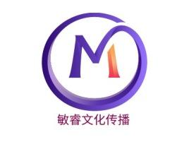敏睿文化传播logo标志设计