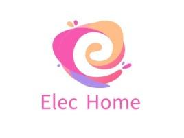 Elec Home店铺标志设计