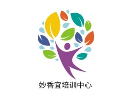 妙香宜培训中心logo标志设计