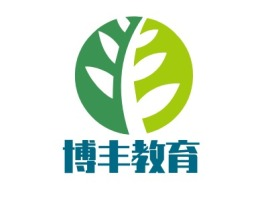博丰教育logo标志设计