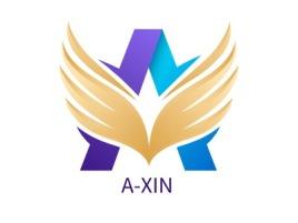 A-XIN公司logo设计