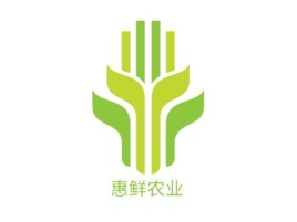 惠鲜农业品牌logo设计