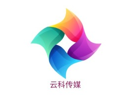 云科传媒logo标志设计