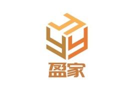 盈家logo标志设计