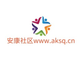 安康社区www.aksq.cn公司logo设计