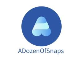 ADozenOfSnaps公司logo设计