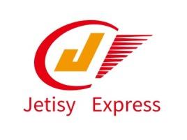 Jetisý Express企业标志设计