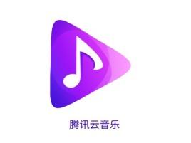 腾讯云音乐logo标志设计