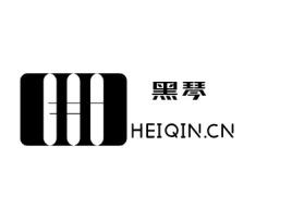 黑琴logo标志设计