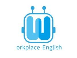 Workplace Englishlogo标志设计