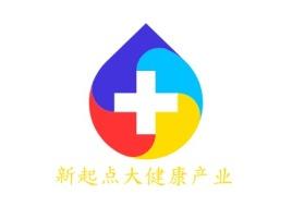 新起点大健康产业企业标志设计