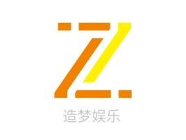 造梦娱乐logo标志设计