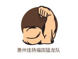 惠州佳扬福田猛龙队logo标志设计
