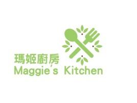 瑪姬廚房Maggie's Kitchen品牌logo设计