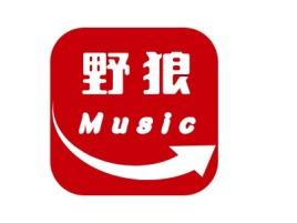 野狼musiclogo标志设计
