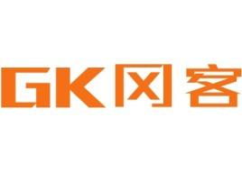 GK冈客店铺标志设计