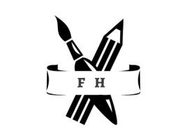 F  Hlogo标志设计