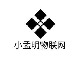 小孟明物联网公司logo设计