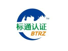 上海标通认证公司logo设计