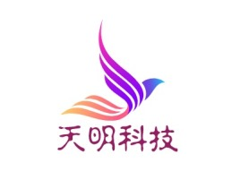 天明科技公司logo设计