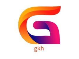 gkh公司logo设计