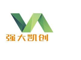 强大凯创公司logo设计