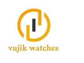 vujik watches店铺标志设计