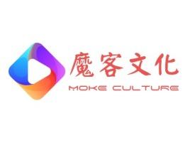 魔客文化logo标志设计