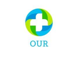 OUR门店logo标志设计