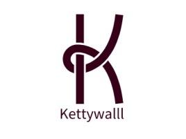Kettywalll公司logo设计