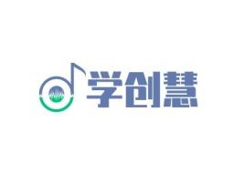 学创慧logo标志设计