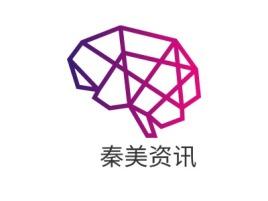 秦美资讯店铺标志设计