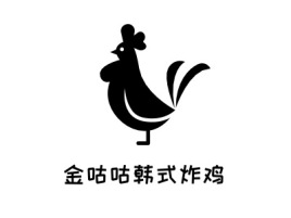 金咕咕韩式炸鸡品牌logo设计