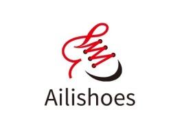 Ailishoes店铺标志设计