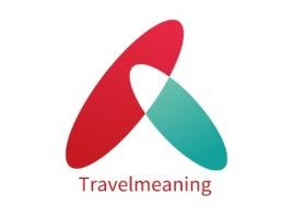 Travelmeaning店铺logo头像设计