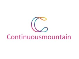 Continuousmountainlogo标志设计