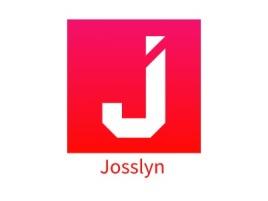 Josslyn店铺标志设计