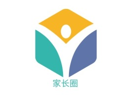 家长圈logo标志设计