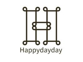 Happydayday品牌logo设计