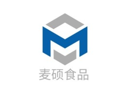 麦硕食品品牌logo设计