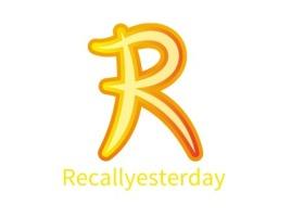 Recallyesterday公司logo设计