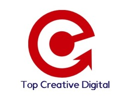 Top Creative Digital公司logo设计