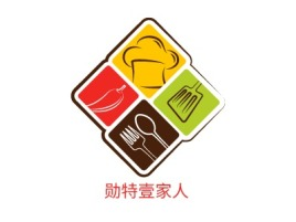 勋特壹家人品牌logo设计