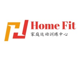 重庆Home Fitlogo标志设计