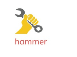 hammer店铺标志设计